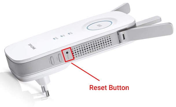 TP Link Extender Reset Button